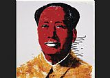 Andy Warhol Mao Red painting