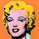 Andy Warhol Shot Orange Marilyn 1964 painting