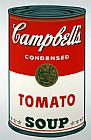 Pop Art paintings - Tomato Soup by Andy Warhol