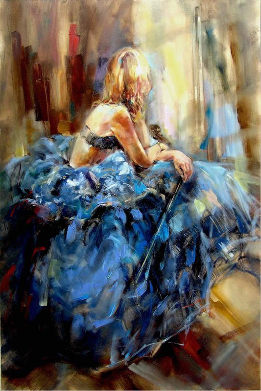 Anna Razumovskaya Dancing With a Violin 3