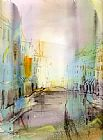 Anna Razumovskaya City I've never been painting