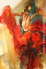 Anna Razumovskaya She Dances In Beauty 3 painting