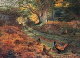 Archibald Thorburn The Bridle Path painting