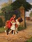 Arthur John Elsley Safely Guarded painting