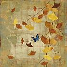 Asia Jensen Gingko Branch II painting