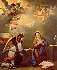 Bartolome Esteban Murillo Annunciation painting