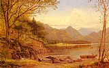 Benjamin Williams Leader Derwentwater painting