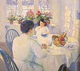 Bernhard Gutmann The Breakfast Room painting