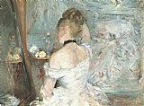 Berthe Morisot Lady at her Toilette painting