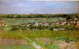 country village ii Paintings - Le village de Maurecourt