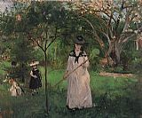 Berthe Morisot The Butterfly Hunt painting