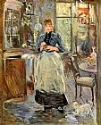 Berthe Morisot The Dining Room painting