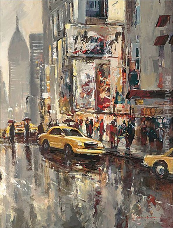 Brent Heighton Urban Scene