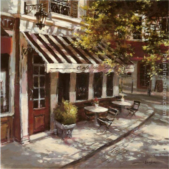Brent heighton paintings brent heighton wine cafe painting