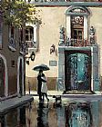 Brent Heighton Boulevard Hotel painting