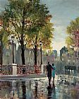 Brent Heighton Boulevard Walk painting