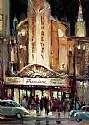Brent Heighton Broadway Premiere painting