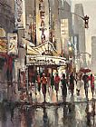 Brent Heighton City Scene painting