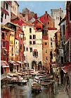Brent Heighton Mediterranean Seaside Holiday 1 painting