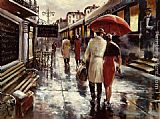 Street paintings - Metropolitan Station by Brent Heighton