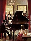 Brent Heighton Piano Jazz painting