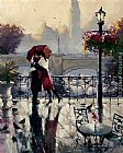 Brent Heighton Romantic Embrace painting