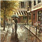Brent Heighton Romantic Stroll painting