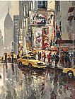 brent heighton Paintings - Urban Scene