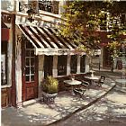 Brent Heighton Wine Cafe painting