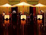 Brent Lynch Spanish Cafe San jose Del Cabo painting