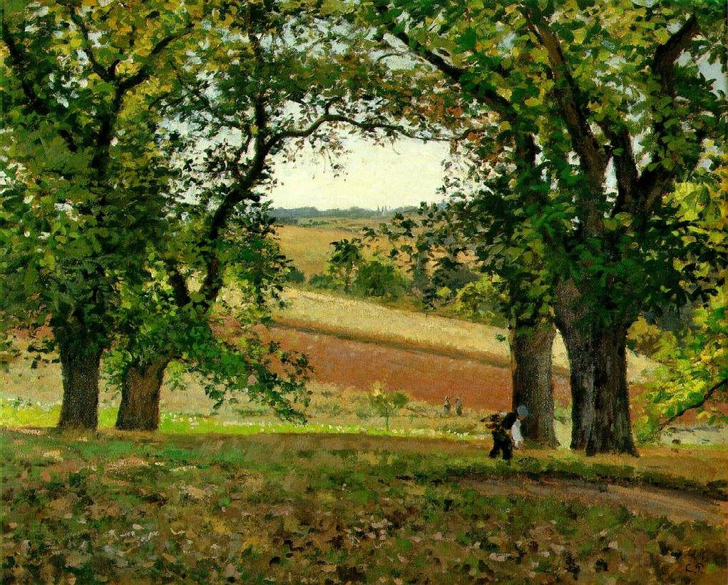 Camille Pissarro The Chestnut Trees at Osny