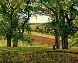 Camille Pissarro The Chestnut Trees at Osny painting