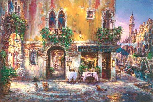 Cao Yong Evening in Venice