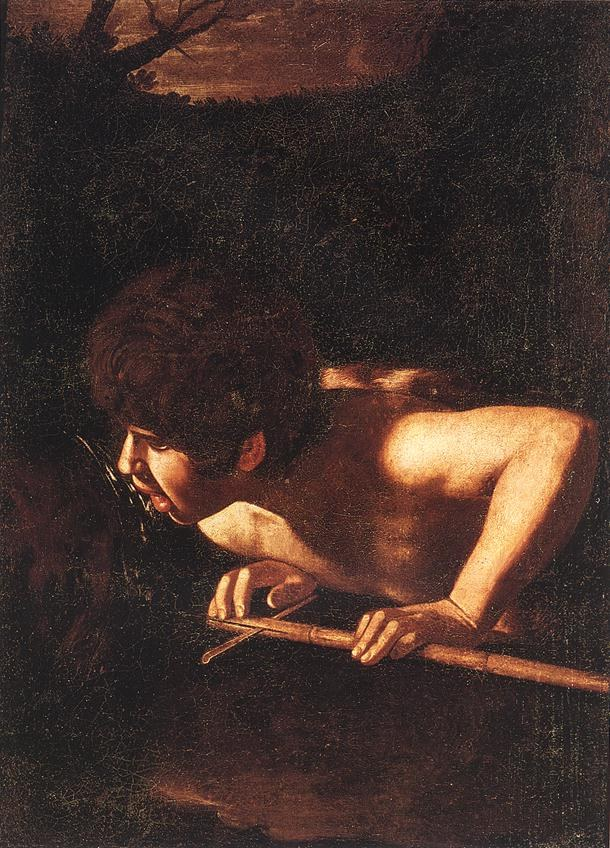 Caravaggio St. John the Baptist at the Well