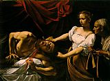 Caravaggio Judith Beheading Holofernes painting