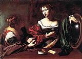 Caravaggio Martha and Mary Magdalene painting