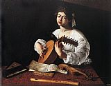 Caravaggio The Lute Player painting