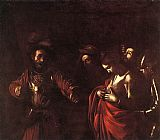 Caravaggio The Martyrdom of St. Ursula painting