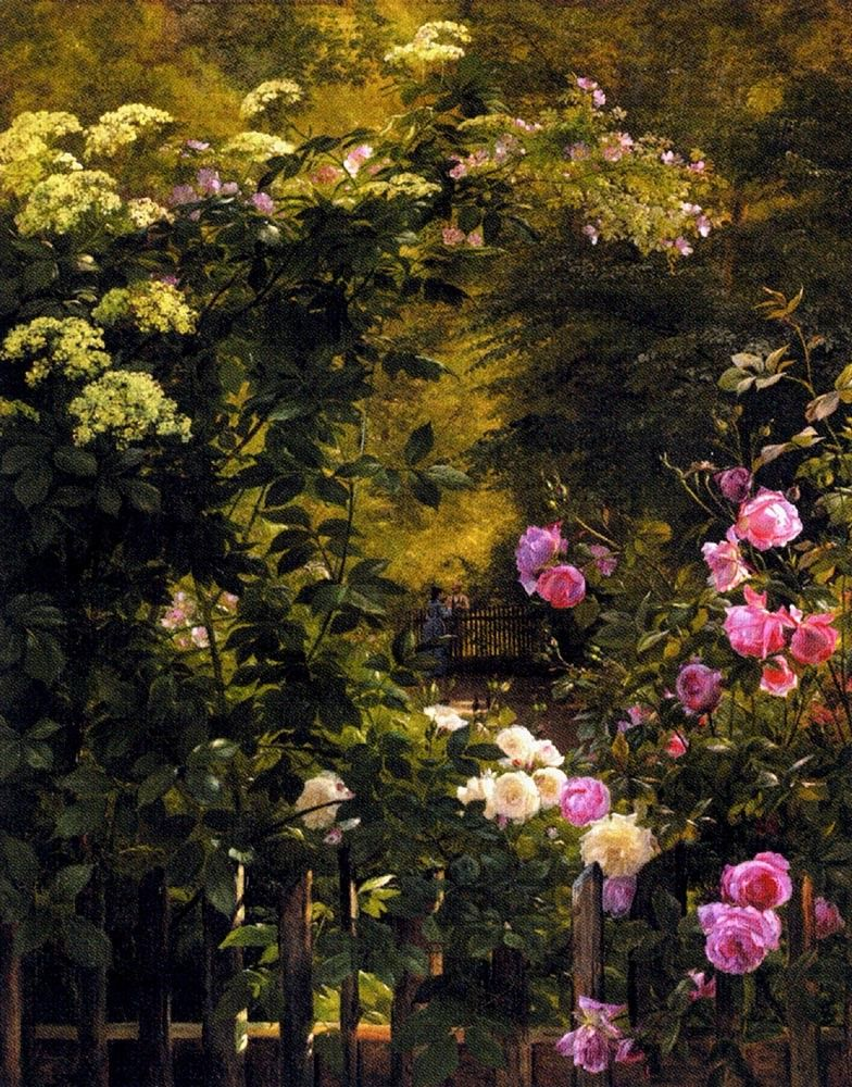 Carl Fredrik Aagard The Rose Garden