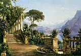 lake como Paintings - Lodge on Lake Como