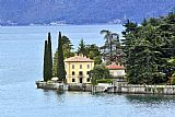 lake como Paintings - Villa La Corte Limonta Lake Como