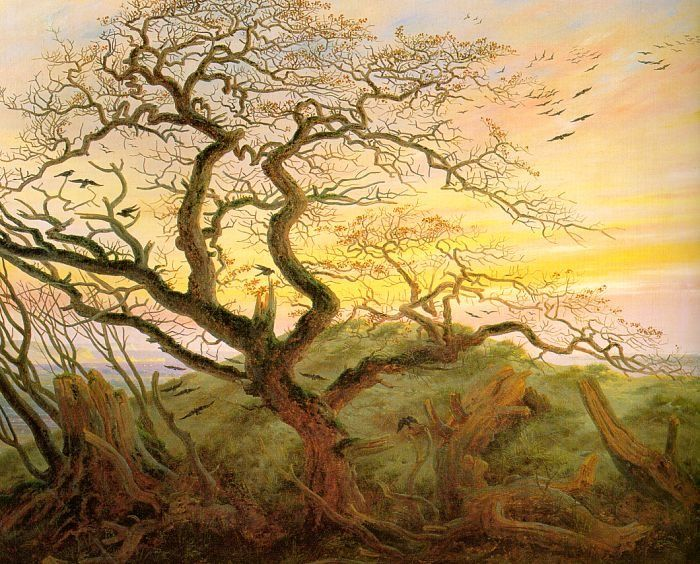 David caspar friedrich giclee canvas prints