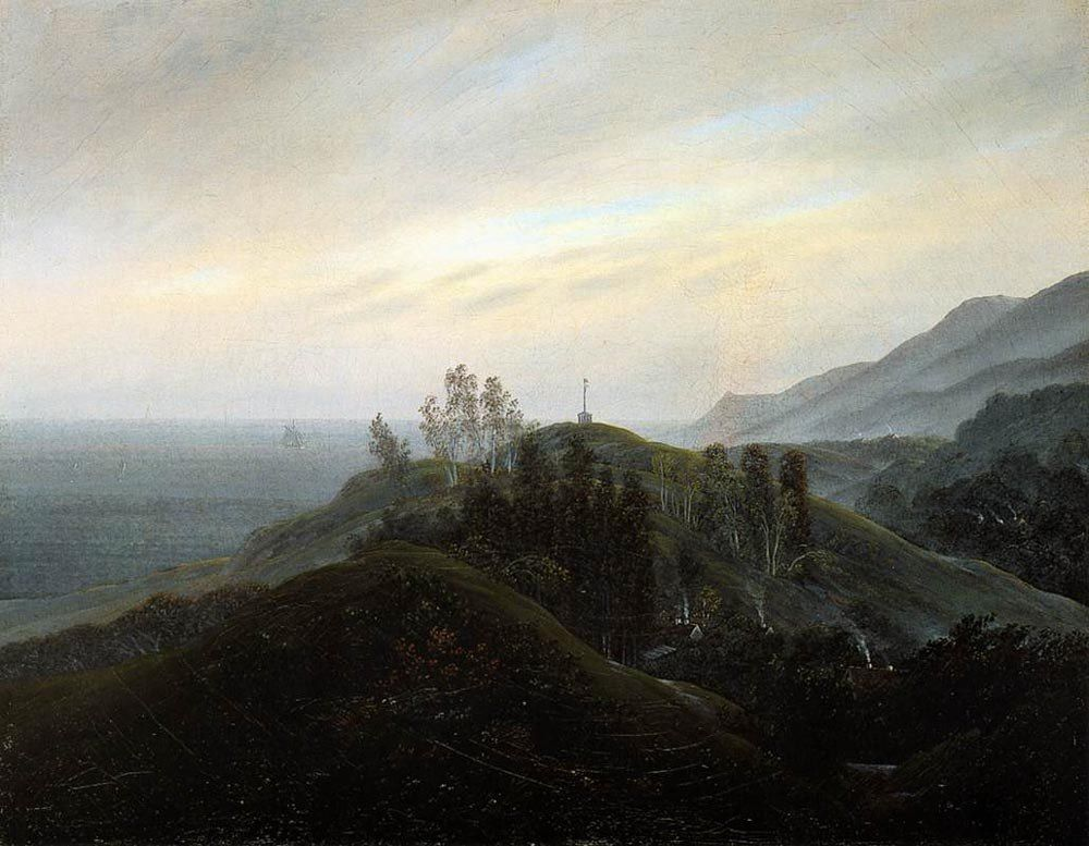Caspar David Friedrich View of the Baltic