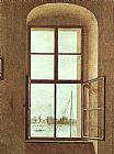 Caspar David Friedrich View from the Painter's Studio painting