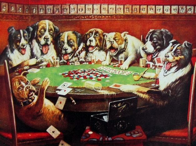 Cassius Marcellus Coolidge Poker Sympathy