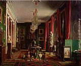 Charles Giraud Interior of the Office of Alfred Emilien Count of Nieuwerkerke painting