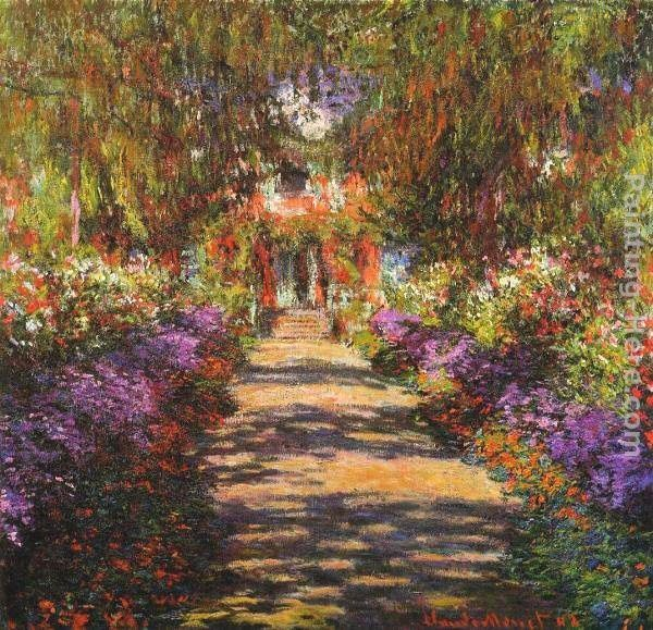 Claude Monet Avenue in Giverny