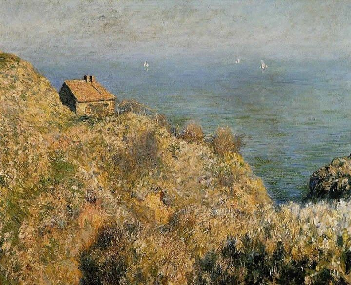 Claude Monet The Fisherman's House at Varengeville