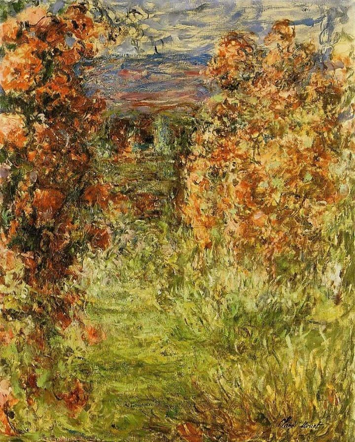 Claude Monet The House among the Roses 2