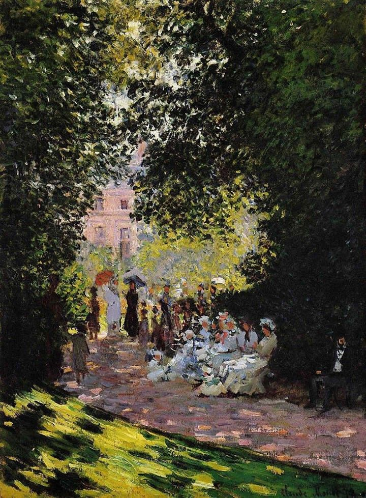 Claude Monet The Parc Monceau Paris 2